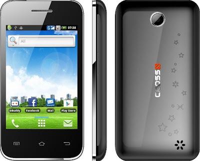 Cross Andromeda A25 Harga Spesifikasi, Ponsel Android Murah 1 Juta Bisa Jadi Modem