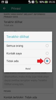 cara agar terlihat offline padahal sedang online di whatsapp wa