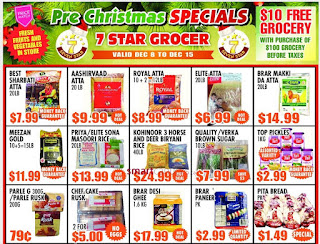 7 Star Grocer Weekly Flyer February 1 to 7, 2018