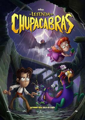 La Leyenda Del Chupacabras 2016 DVD R4 NTSC Latino