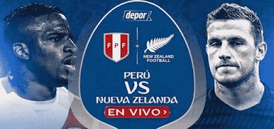 Perú y Nueva Zelanda en vivo miden fuerzas este miércoles en el Estadio Nacional a las 9:15 p.m, hora peruana.
