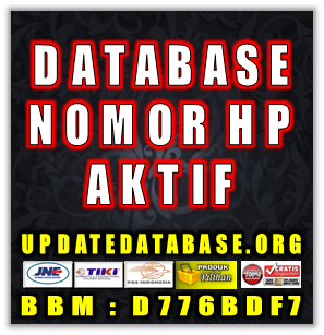 Jual Database Nomor HP Nasabah Bank Seindonesia