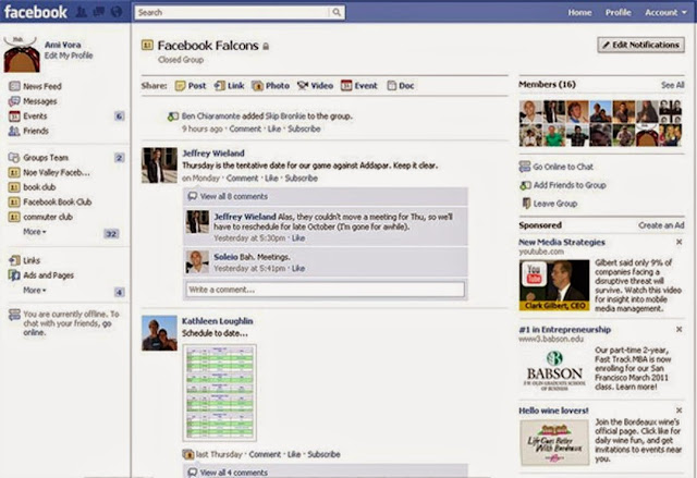 facebook products groups