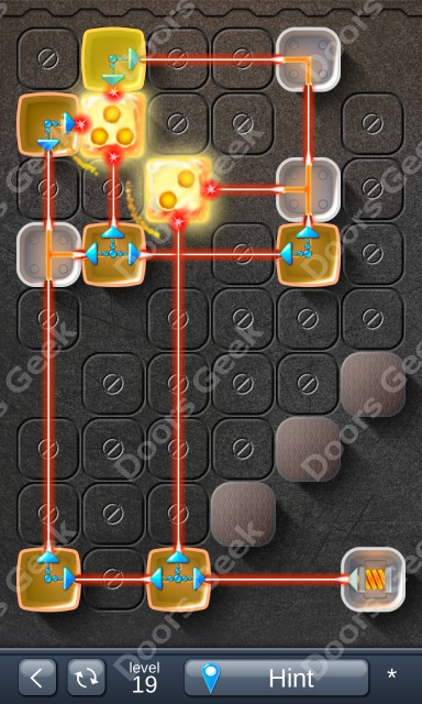 Solution for Laser Box - Puzzle (Basic) Level 19