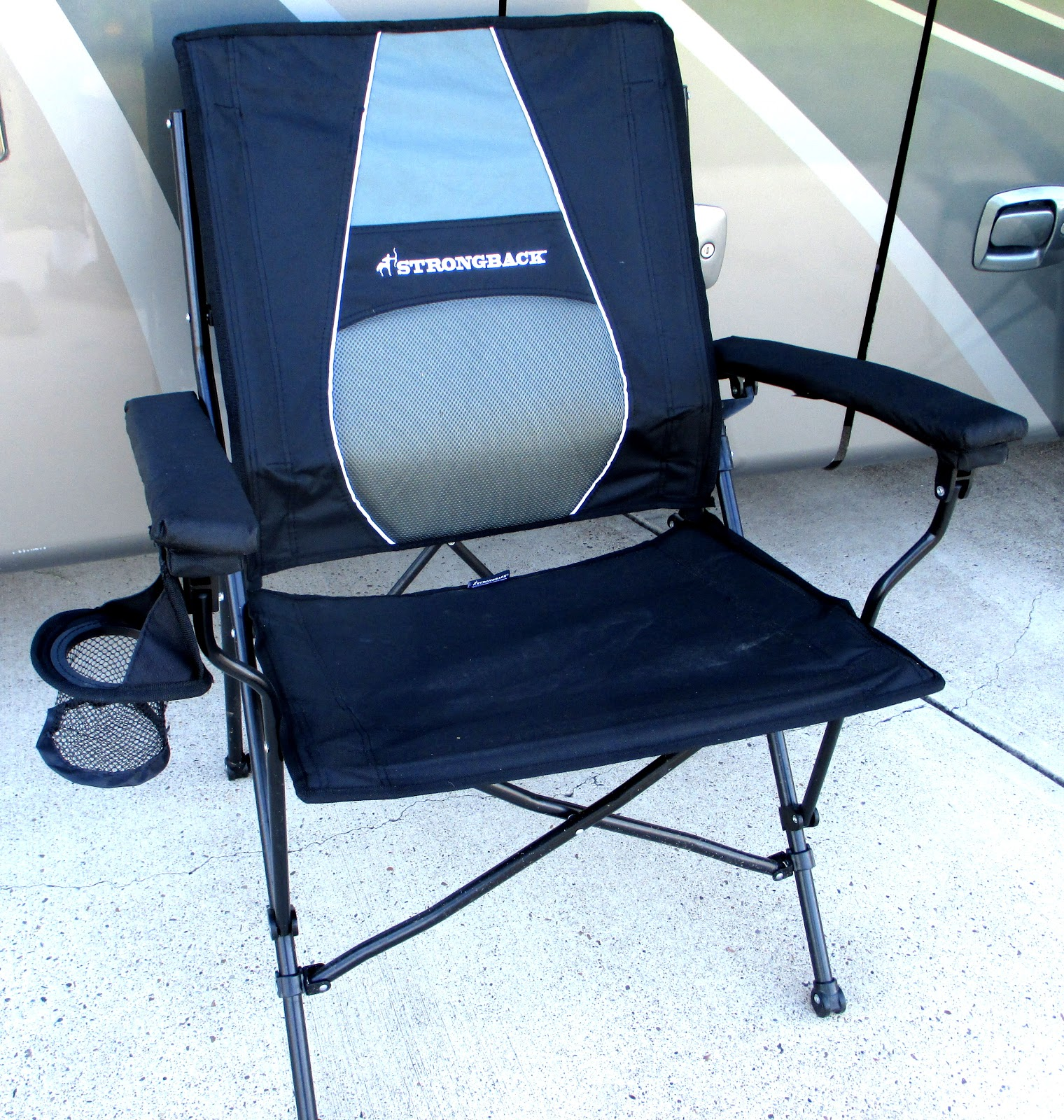 Strong Back Chairs Dining Chair Covers Australia Ebay Phannie And Mae Settling Down In The Rgv Plus A Good Deal On Not Wanting To Be Without One Of These We Had Four Them Before This Incident I Sent Quick Email Strongback Order Replacement