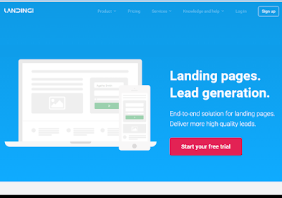 Landingi is straightforward, just add content and let them convert for you