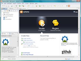 تحميل Aptana Studio ,مطورى الويب , HTML,CSS,جافا سكريبت,