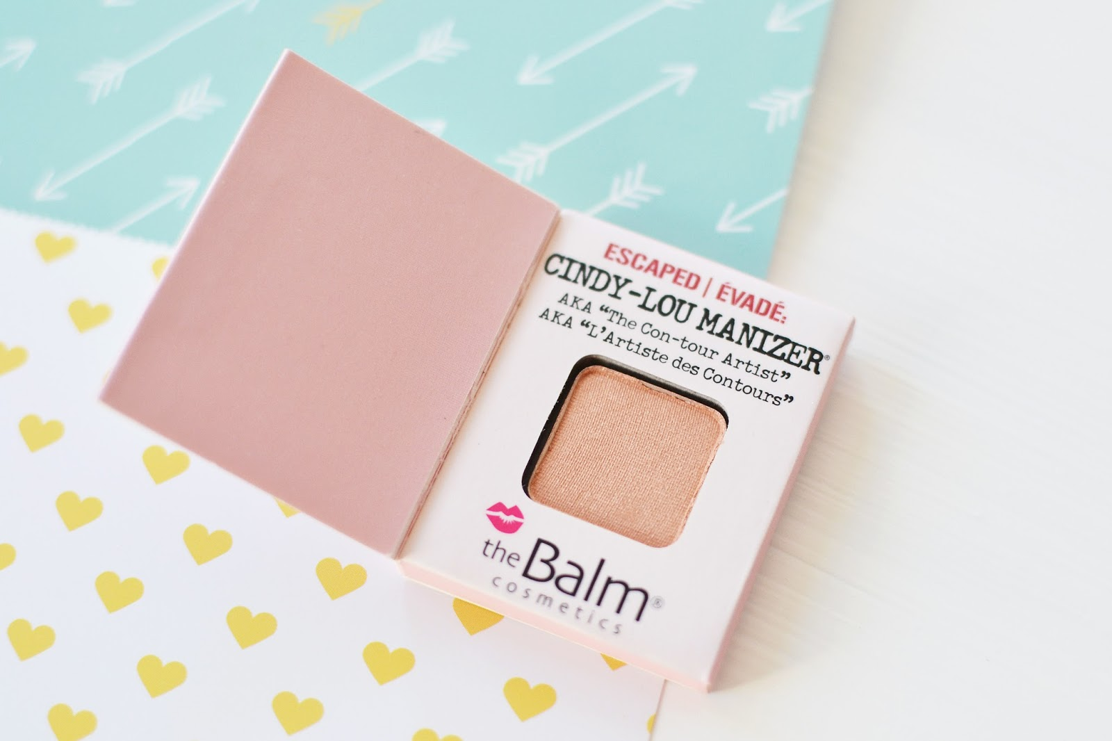 birchbox uk february 2015, thebalm cindy lou manizer