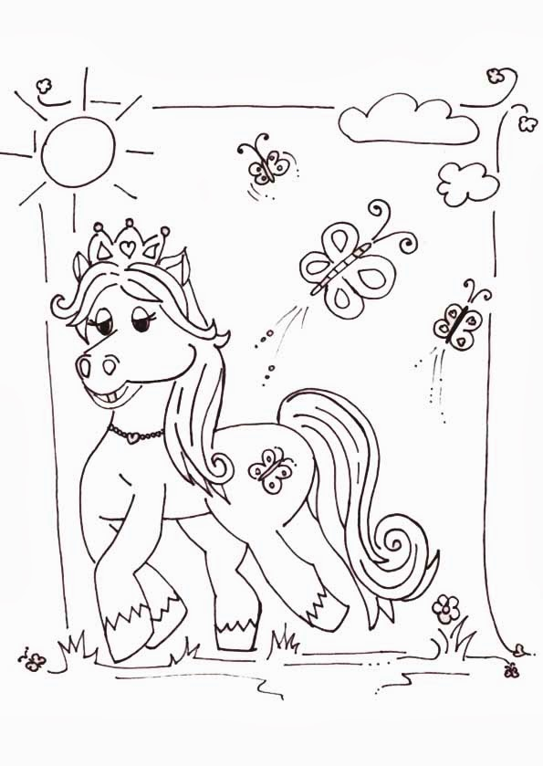 filly pferde malvorlagen