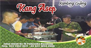 Kambing Guling di Bandung Utara