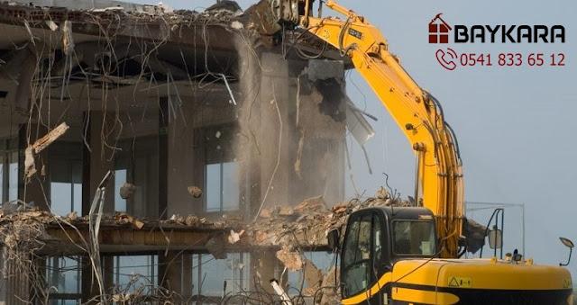 Başakşehir bina yıkım işleri, Başakşehir bina yıkım firması, Başakşehir yıkımcı