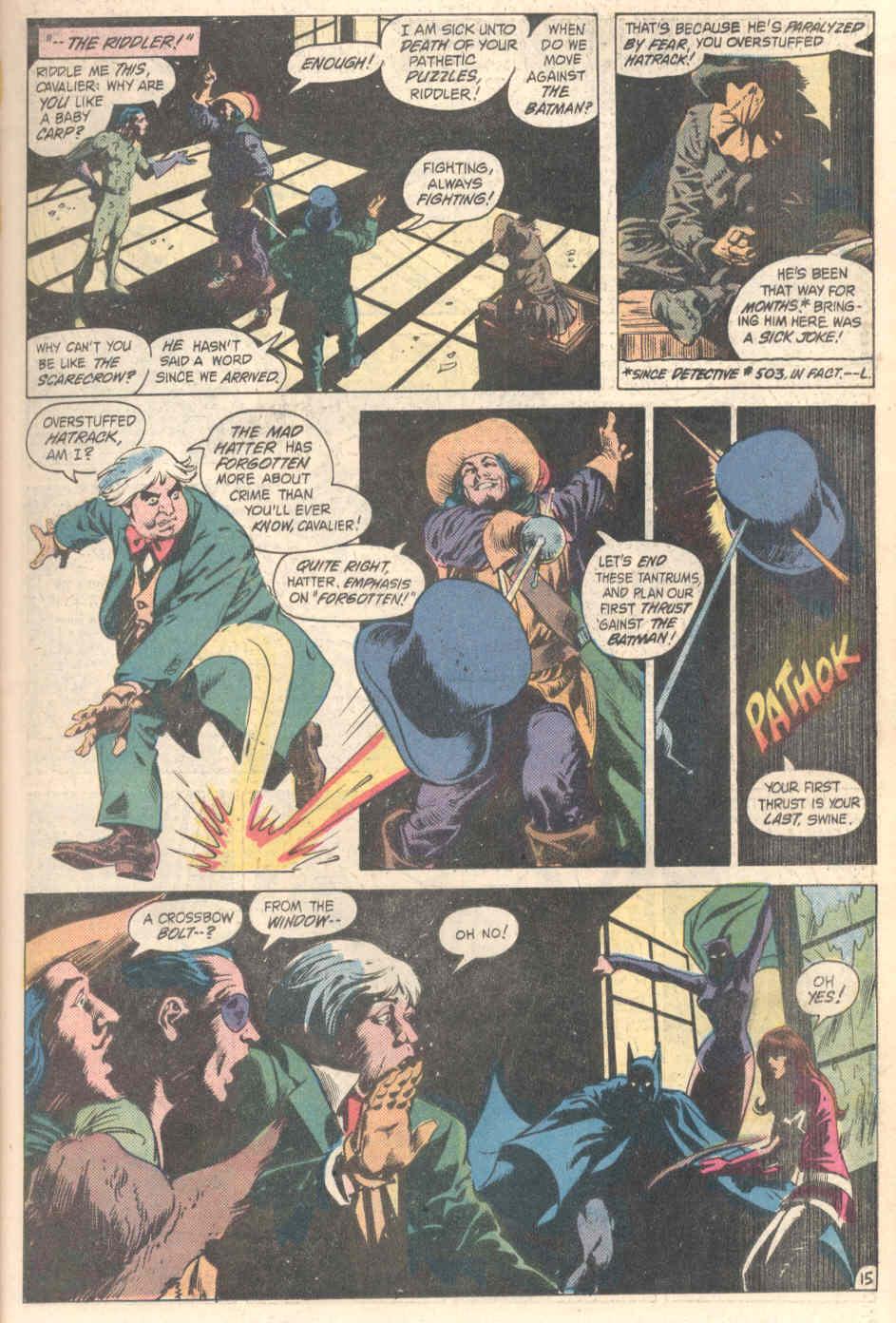 Detective Comics (1937) 526 Page 15
