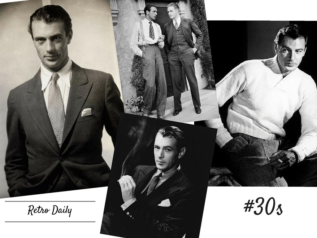Retro Daily Wyznaczniki Męskiej Mody Lat 30 Tych