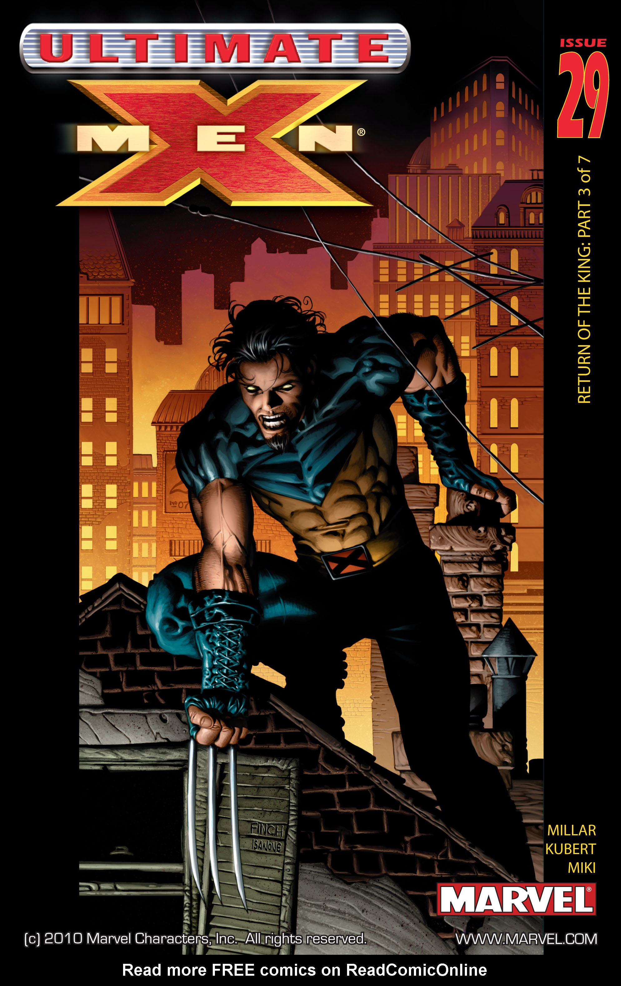 Read online Ultimate X-Men comic -  Issue #29 - 1