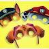 Paw Patrol: Máscaras y Orejas para Imprimir Gratis.