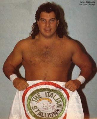 Itallian Stallion pro wrestling jobber tracksuit