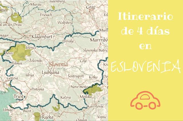 itinerario por Eslovenia