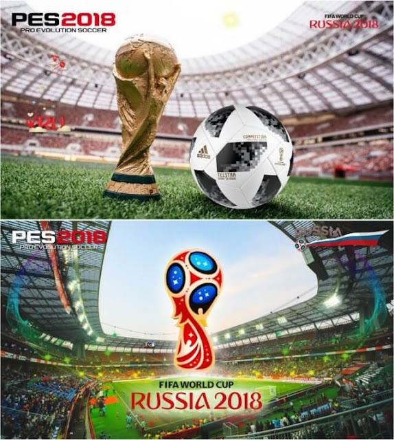 World Cup 2018 Start Screens PES 2018