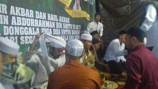 Umat Islam Manado Berhasil Jemput Habib Bahar dan Habib Hanif