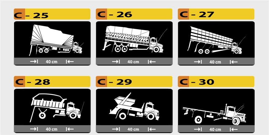 Adesivo Queimador De Gordura ~ Kentaurus Adesivos Personalizados Modelos de caminhões em adesivos