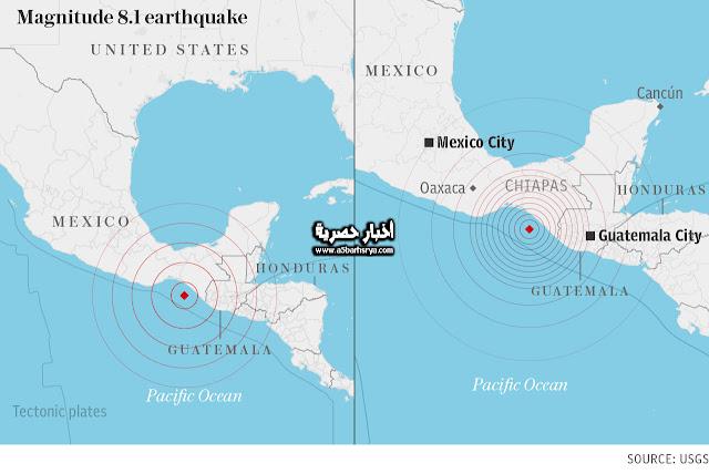 بالصور .. أخر أخبار زلزال المكسيك الان : زلزال المكسيك تخطي القوه المدمره عن زلزال 1985 الاضرار والعواقب التي نتجت من زلزال المكسيك امس 7-9-2017