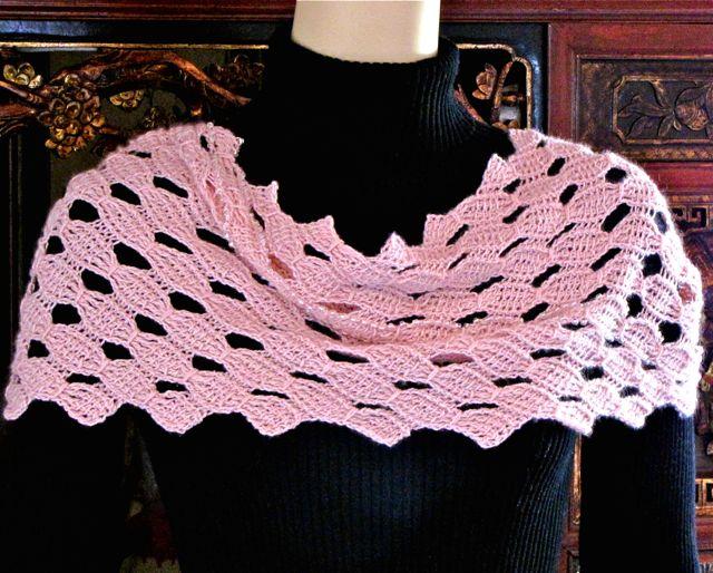 DesigningVashti: The Blog: Tunisian Crochet Lace: New Habits