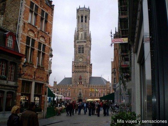 Campanario Belfort, Brujas, Bélgica