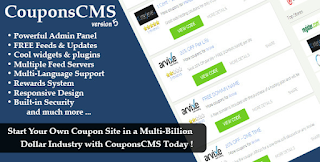 Download Coupons CMS v5