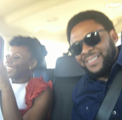 Photos: Chimamanda Adichie hangs out with her family in Baltimore