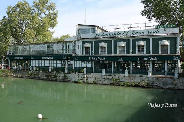Restaurante la Rana Verde, Aranjuez