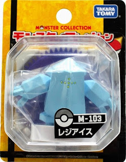 Regice figure Takara Tomy Monster Collection M series