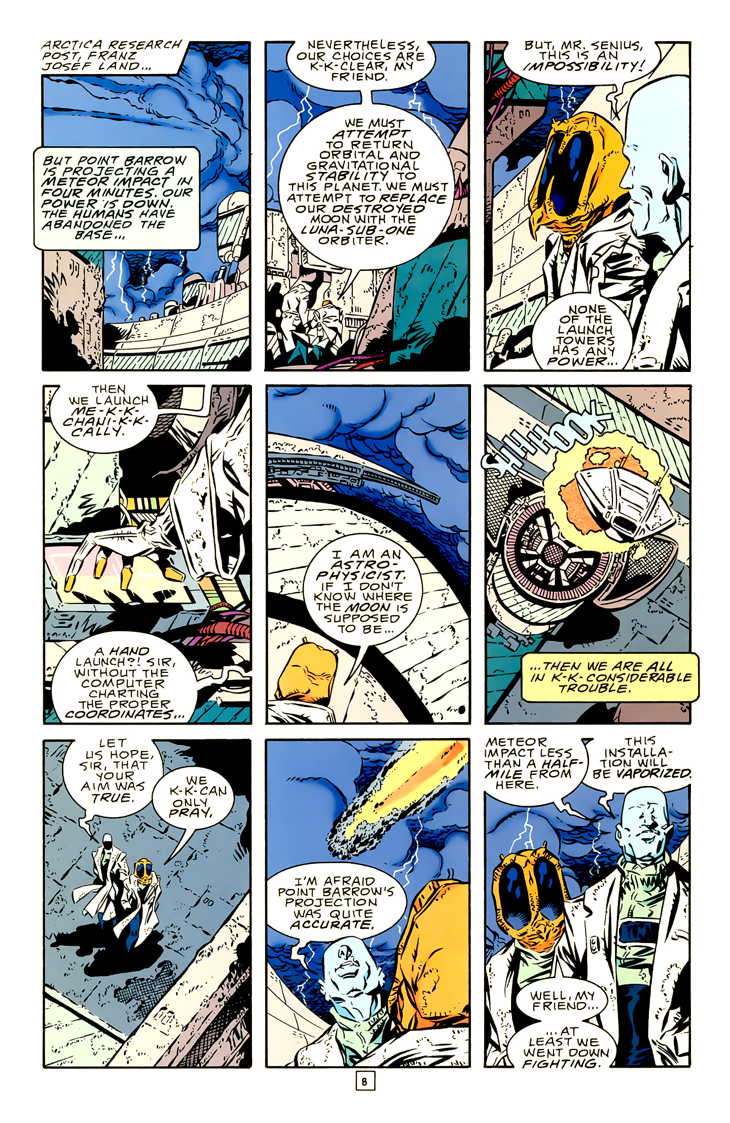 Legion of Super-Heroes (1989) 19 Page 8