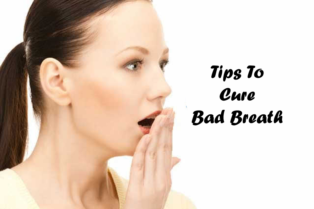 Tips to cure bad breath