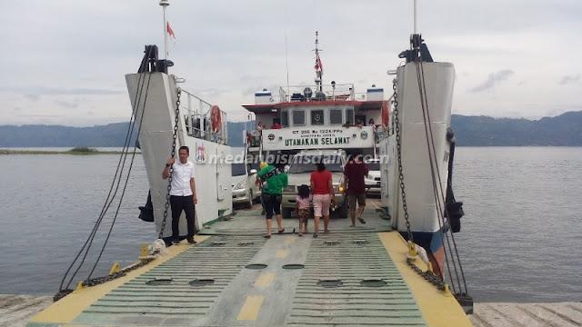 Usai Libur Tahun Baru, Pelabuhan Penyeberangan Tigaras-Simanindo Normal