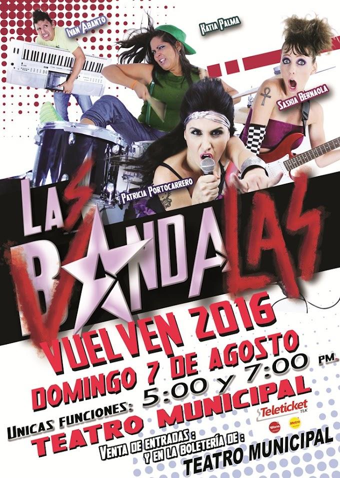 Las Bandalas en Arequipa - 07 de agosto