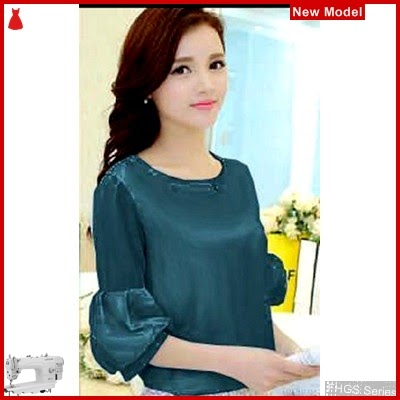 FHGS9040 Model Blouse Diana Tosca, Wolly Blouse Perempuan Crepe BMG