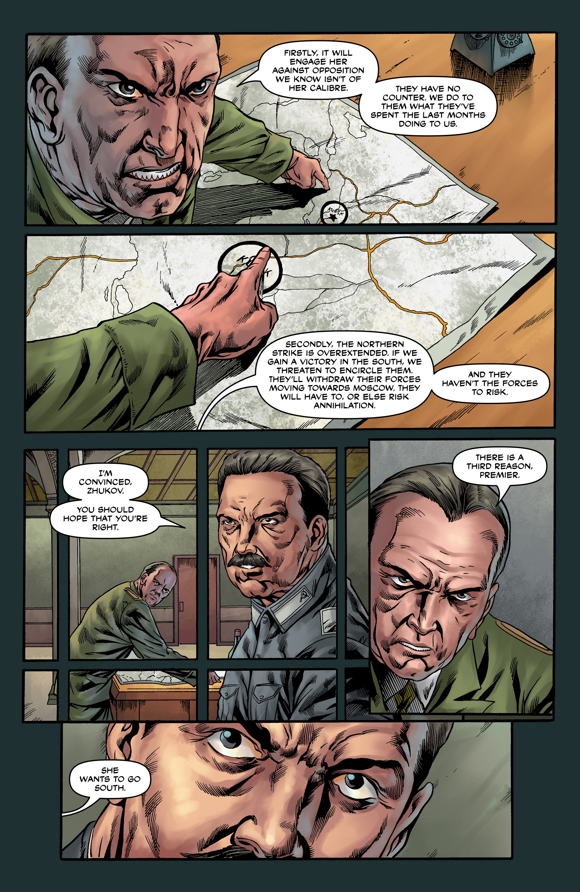 Read online Uber comic -  Issue #20 - 23