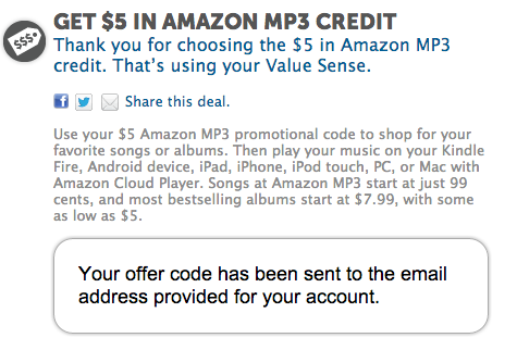 FREE IS MY LIFE: FREE $5 Amazon MP3 Credit when signup for a FREE