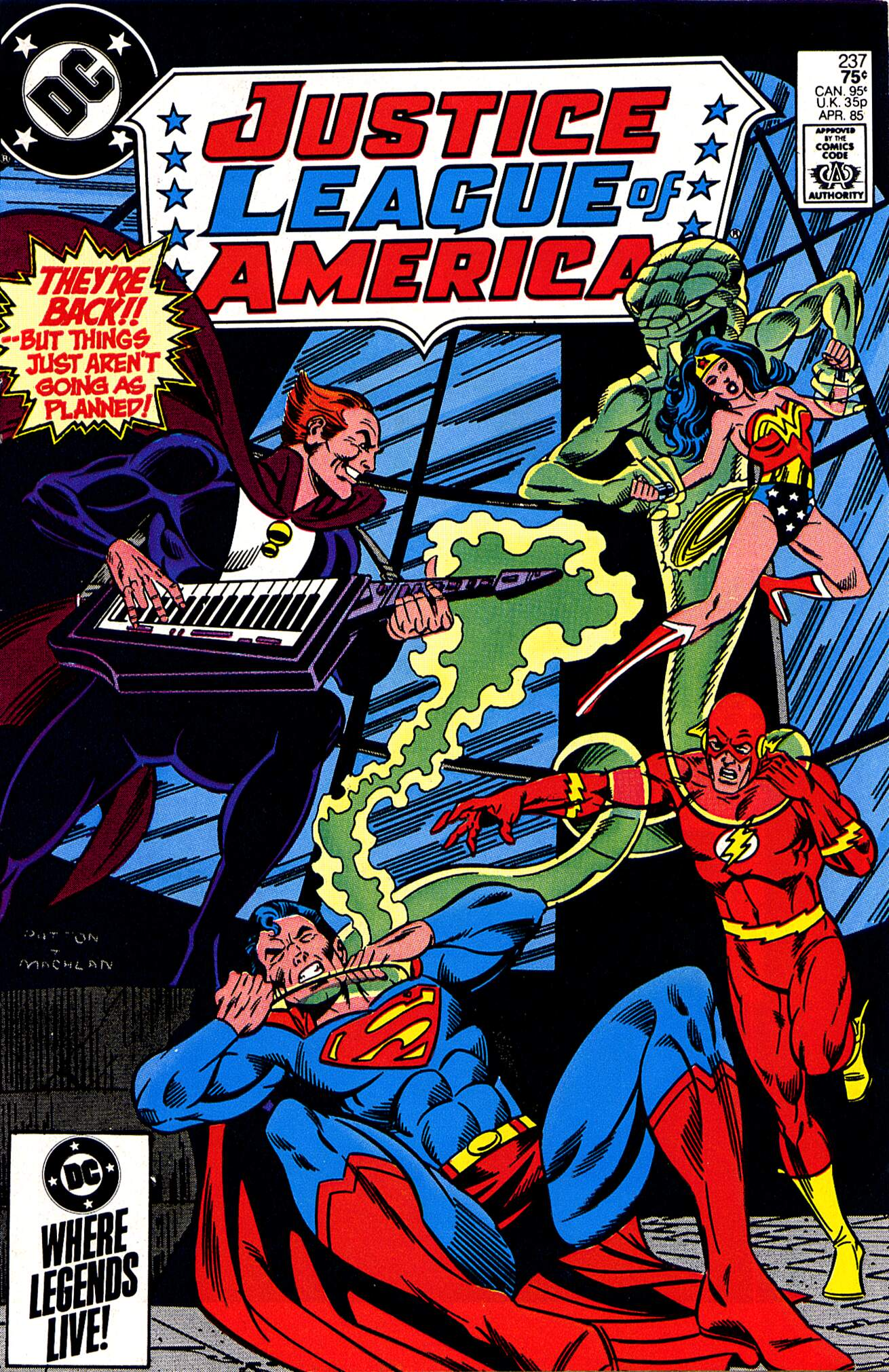 Justice League of America (1960) 237 Page 1