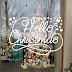 Vinilos Navideños Vidrieras Navidad Fiestas Fin de Año 2020/21 Reyes