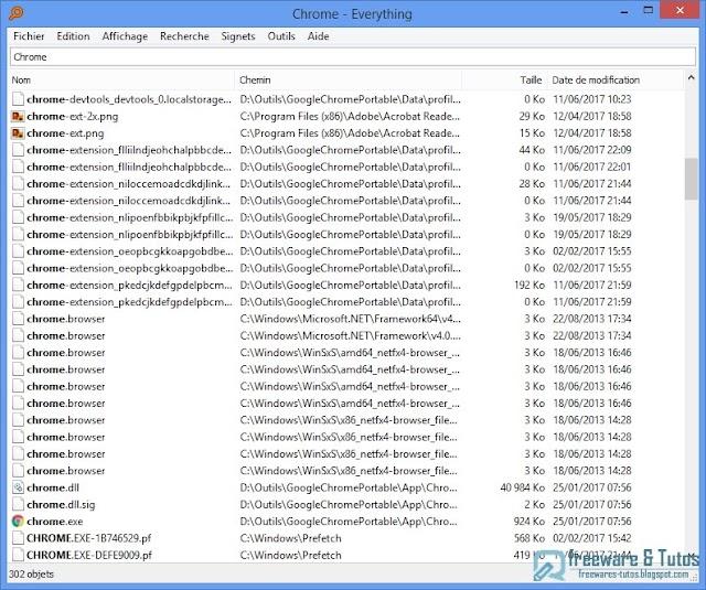 Everything : un logiciel de recherche de fichiers hyper rapide
