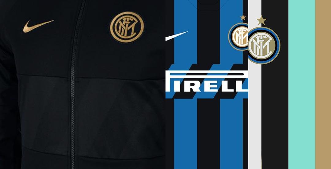 huge selection of ad3fe 641ac Hint At Next Season's Kits - Black / Gold Inter Milan 19-20 ...