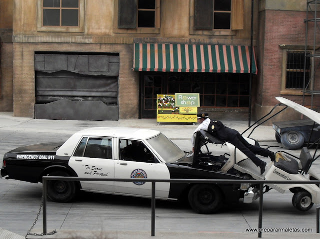espectaculo policias madrid
