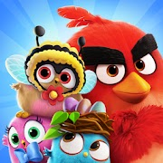 Game Angry Birds Match 3 MOD Unlimited Money