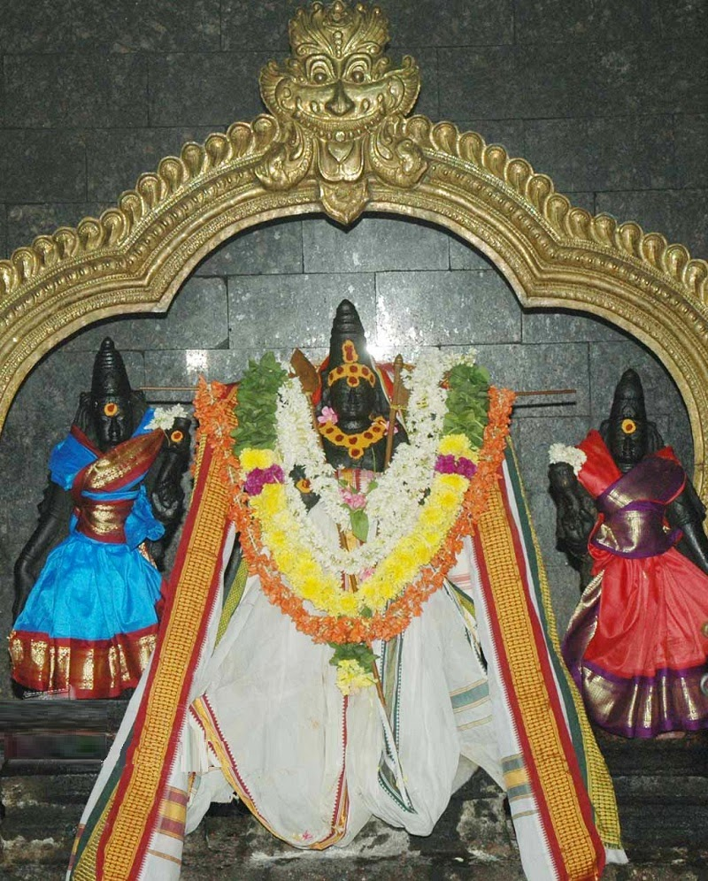 Lord Muruga in Thiruvalithayam Shiva Temple