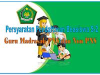 Beasiswa S2 Guru Madrasah MI MTs dan MA dari Dirjen Kemenag 2017
