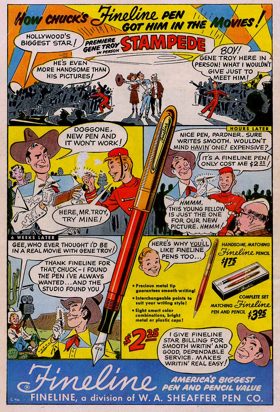 Read online Action Comics (1938) comic -  Issue #196 - 44