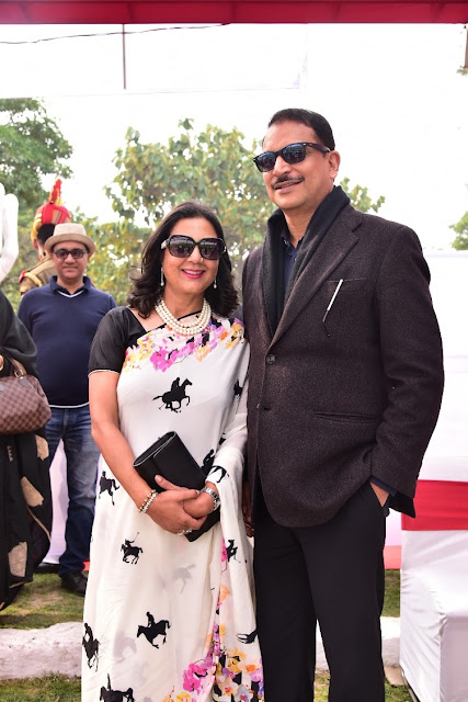 Ms. Neelam Pratap Rudy with Husband Mr. Rajiv Pratap Rudy