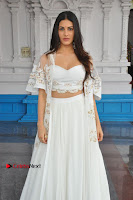 Telugu Actress Amyra Dastur Stills in White Skirt and Blouse at Anandi Indira Production LLP Production no 1 Opening  0124.JPG