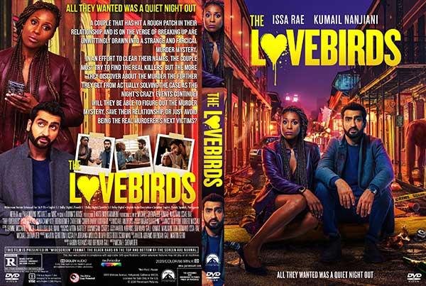 The Lovebirds (2020) DVD Cover